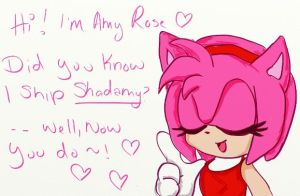 Amy Rose2 by Rainbow-Koolaid