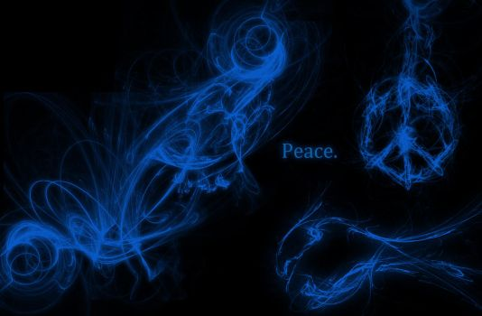 Peace Fractal by NRoberts93