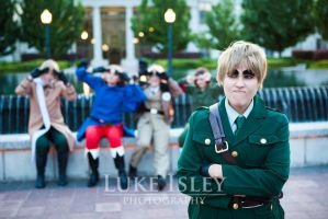 Hetalia: Look at me I'm England~ by Skarlog