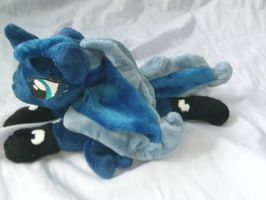 Bed Time Luna Shot 3 by DappleHeartPlush