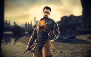 Half Life 2 Wallpaper by SxyfrG