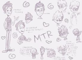 MTR sketchdump by teenytinyturtle5