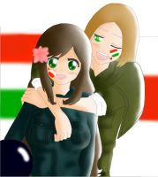 Hungary Poland-Friends Forever by Sakura9012
