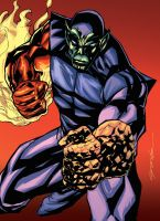 Super Skrull by johnnymorbius