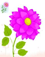 Flower Magenta by Doodler0305