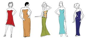 Fashion Sketches by Benalene