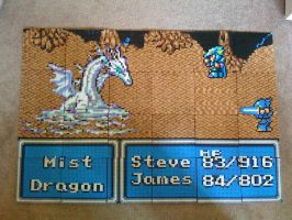 Final Fantasy IV: Mist Dragon by Dunhour