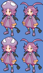 Shas and Kira Disgaea 4 sprites by Maharl
