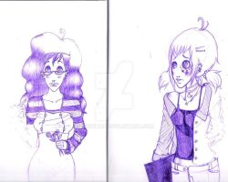 art journal pages 1 by squiditha