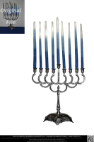 Hanukkah Menorah by DamselStock