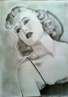 Betty Grable by bawdrysinger