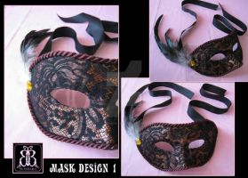 Masquerade Mask 1 by the-booboo-shop