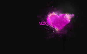 Love: Give Heart + PSD by v21ta
