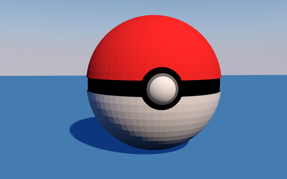 Pokeball 3D by xKarinchi