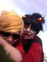 Dave and Karkat 3 by ChristinaUndead