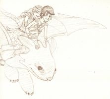 Httyd Romantic Flight Sketchy by Hollyboo2001
