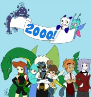 2000th Deviation by Avi-the-Avenger