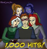 1000 HITS by JCRobin