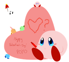 Kirby Valentine by GirlKirby