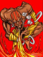 Dhalsim final Color by mhopkins0819