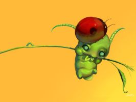 The Aphid and the Ladybird by JenZee