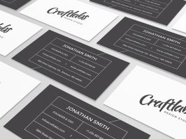 Simple Modern Business Card by nazdrag