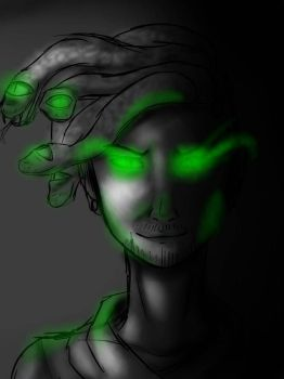 [ WIP ] Antisepticeye- Rough Sketch by winterclyde
