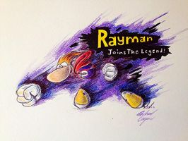 Rayman for Smash Bros. Wii U! by GeneticDestiny