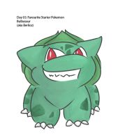 Day 03: Favorite Starter Pokemon by reapergeek