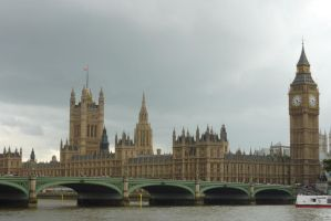 The Parliament - London by Lynx-Pardina