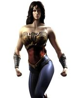 Wonder Woman Injustice by thedragonphoenic
