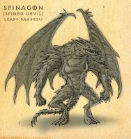 Spinagon by Domigorgon