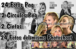 Pack Fotos Png de Demi Lovato by AnyCuervaEditions