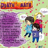 DEATH BY MATH -CD BACK COVER by Kevin11s-girl