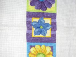 Flower Sampler Cross Sitich by canadiankazz
