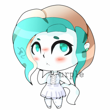 ~*Gift///Shining Jade:.Chibi* by ColorDream123