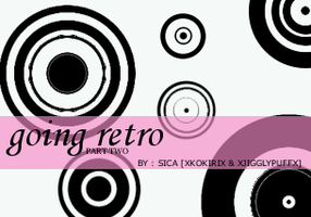 Going Retro Part 2 -- brushes by girlinabox
