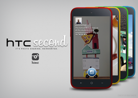 HTC Second 'Instagram Phone' (Concept) by raintomista