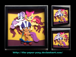 Shadowbox: Flag Waving CMCs by The-Paper-Pony