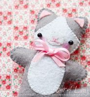 My pet Kitty by CraftersBoutique