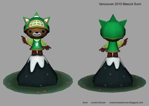 Vancouver 2010 Mascot Sumi by bunnybiscuit