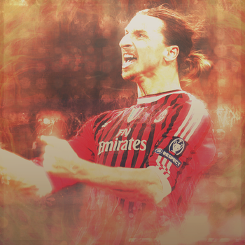 Ibrahimovic Poster By Me by Hacen13