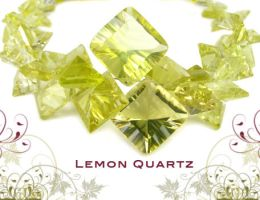 Lemon Quartz by BeadsofCambay