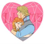 Graphic Design: Anna and Kristoff V-Day - 2015 by Lokotei