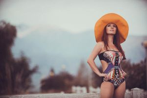 One big orange hat3 by piesong