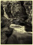 Adams Falls faux vintage by aarongcampbell