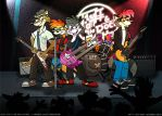 The Rock Kittens In Concert by FreyFox