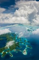 Palau Rock Islands -From Air 2 by MarkKenworthy