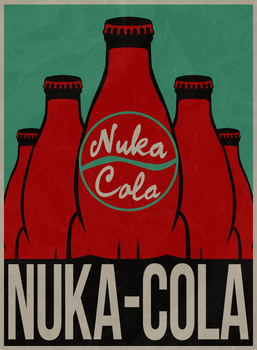 Poster - ''Nuka-Cola'' by SemonX