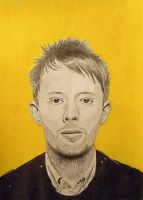 Thom Yorke by TheCookiMonster